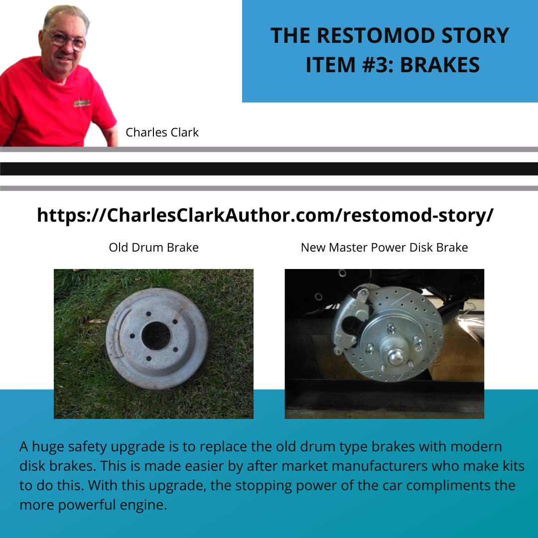 THE RESTOMOD STORY - ITEM #3: Brakes