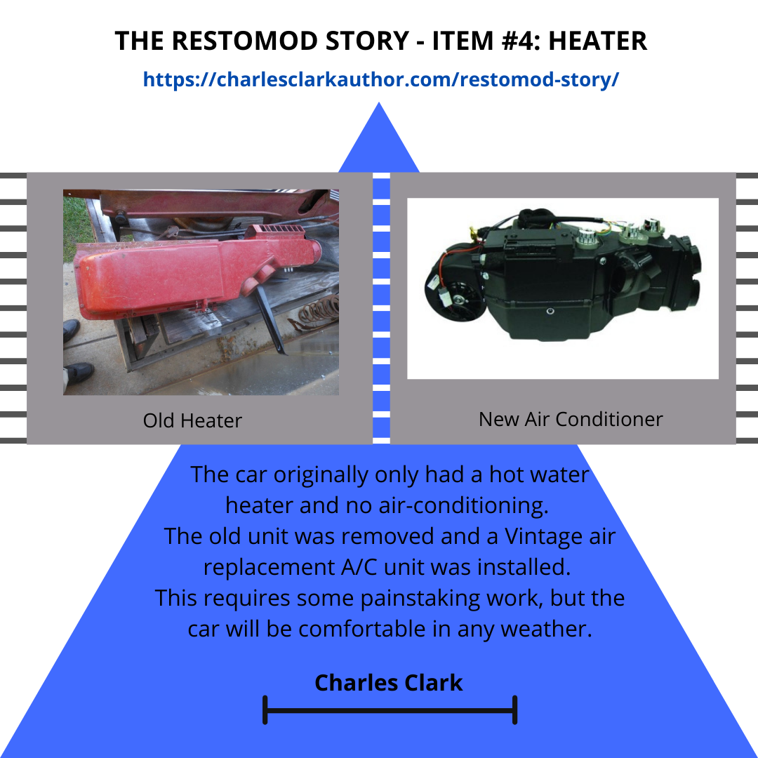 THE RESTOMOD STORY - ITEM #4: Heater
